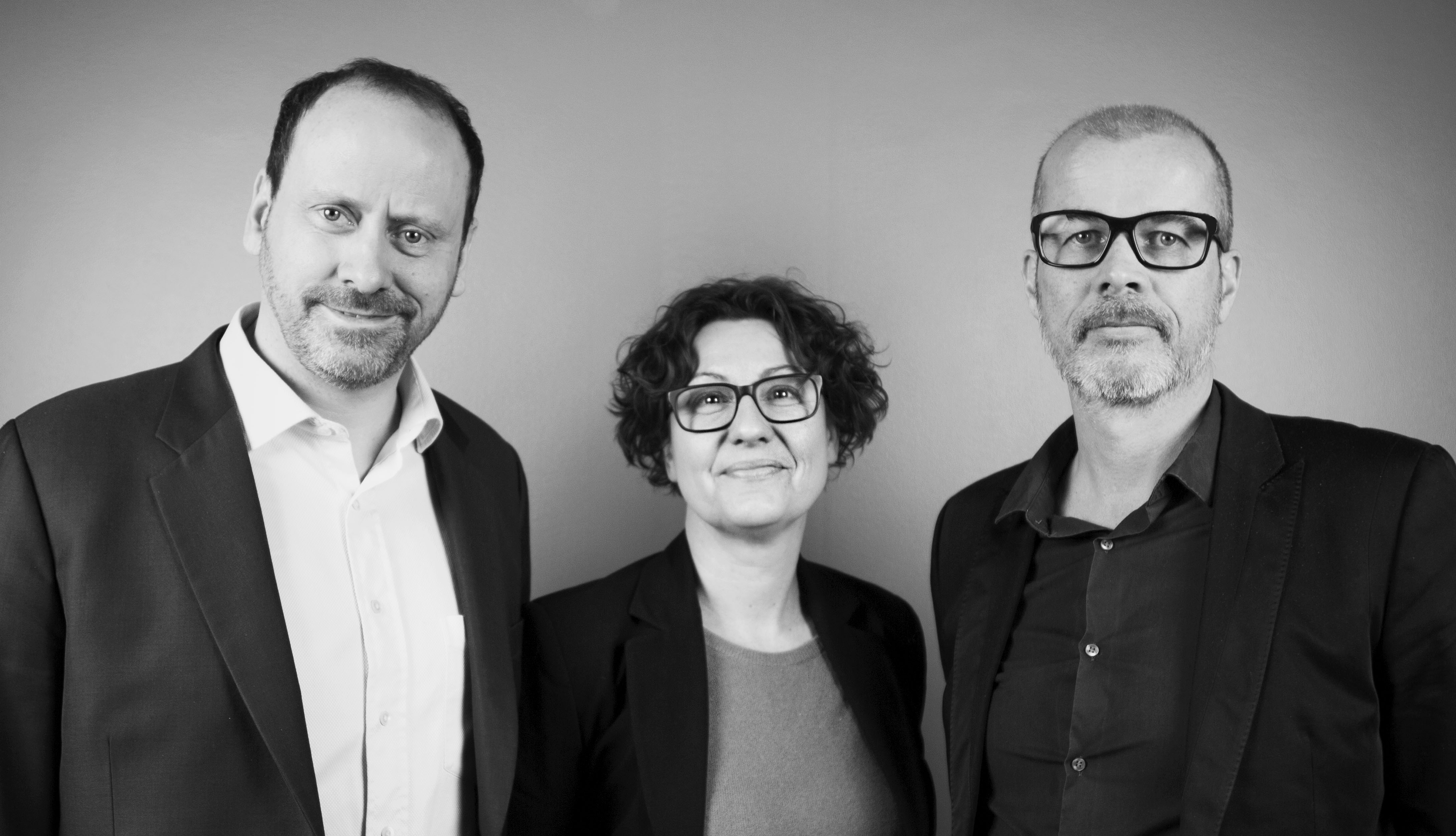 Marcus Hasselblad, Mari-Ann Mortensen and Pierre Renhult