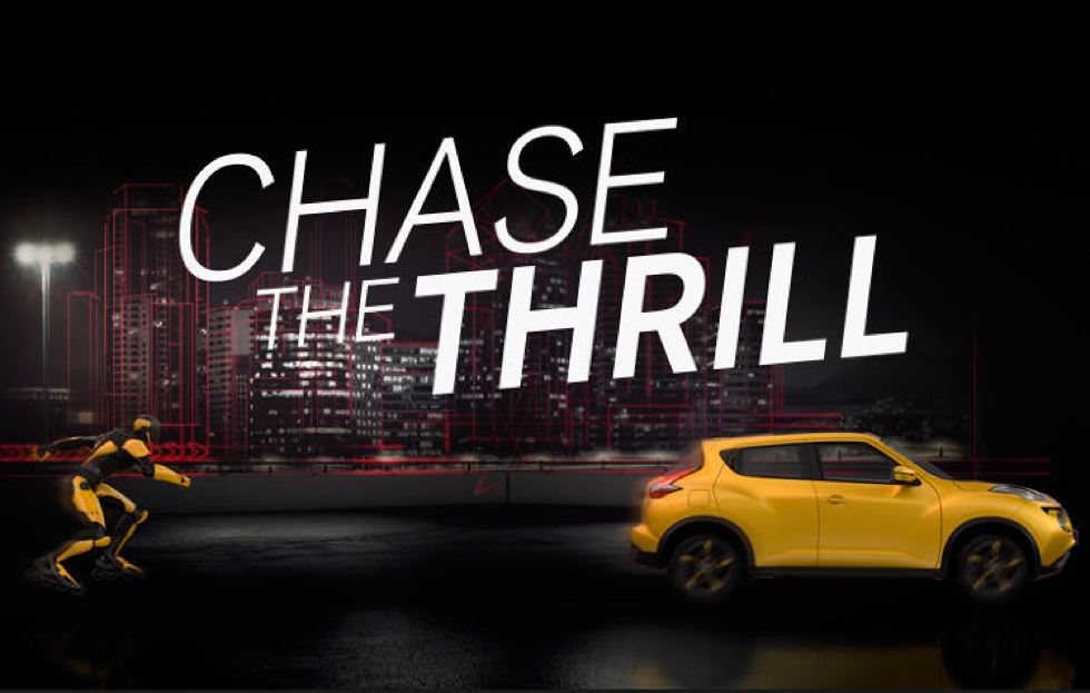 Nissan Europe Chase the Thrill