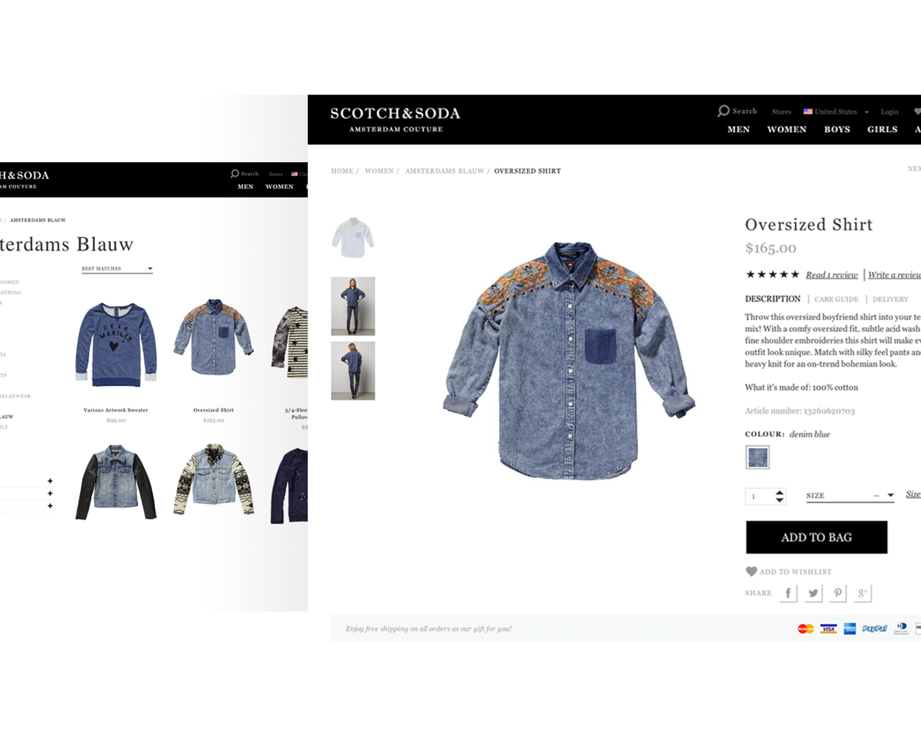 a8274ce8327043 How can Scotch   Soda manifest itself as a high-end fashion brand online  and at the same time reach their ambitious sales targets